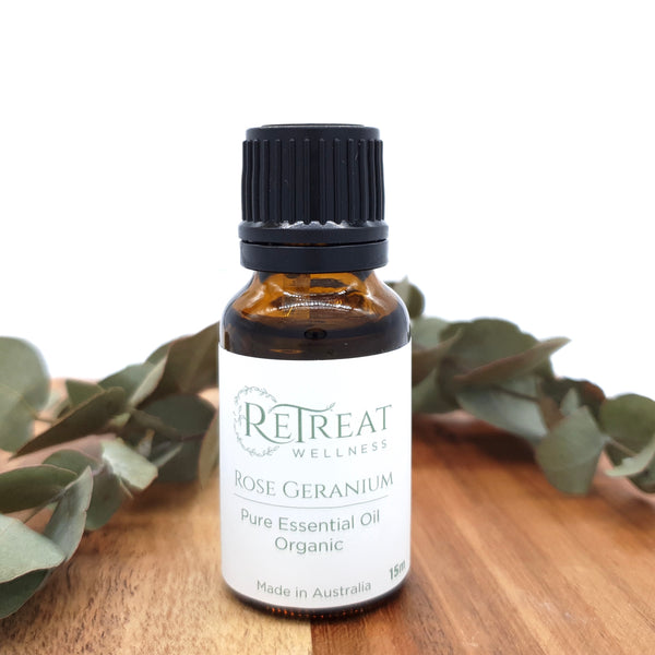 Rose Geranium Essential Oil - Organic