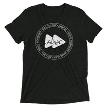 Load image into Gallery viewer, Amaculet Apparel Stamp Logo - Triblend T-Shirt - Amaculent Apparel