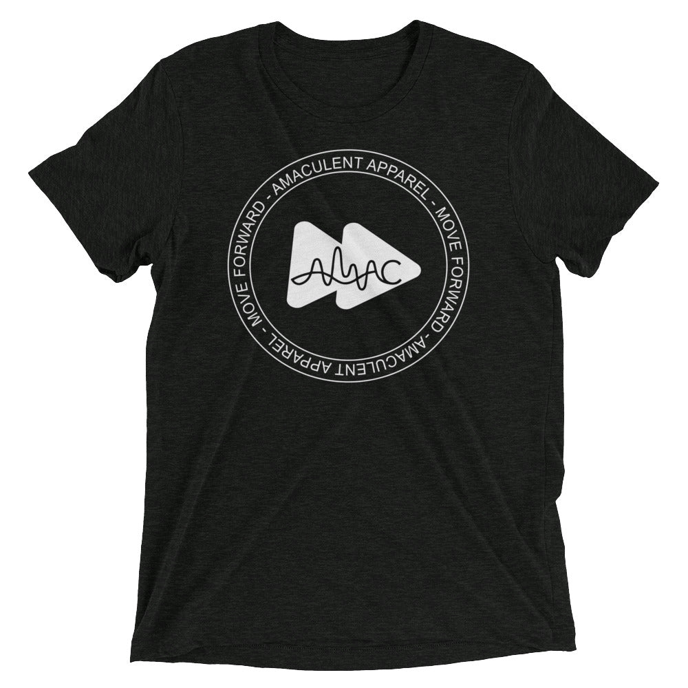 Amaculet Apparel Stamp Logo - Triblend T-Shirt - Amaculent Apparel