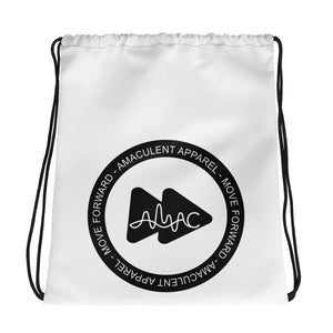 Amaculent Apparel Stamp Logo Drawstring bag - Amaculent Apparel