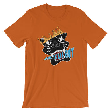 Black Panther - Orange T Shirt Design - Amaculent Apparel - Amaculent Apparel