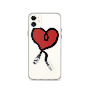 I Heart Audio iPhone Case - Amaculent Apparel
