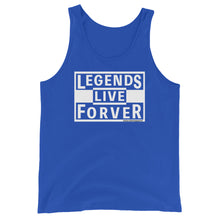 Load image into Gallery viewer, Legends Live Forever - Amaculent Apparel - Tank Top - Multiple Colors - Amaculent Apparel