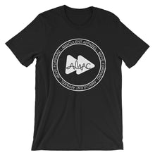 Load image into Gallery viewer, Amaculent Apparel Stamp Logo WHT Outline - T Shirt - Amaculent Apparel