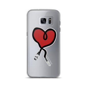I Heart Audio Samsung Case - Amaculent Apparel