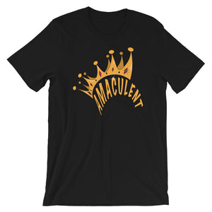 Crown - Black T - Shirt Design - Amaculent Apparel - Amaculent Apparel