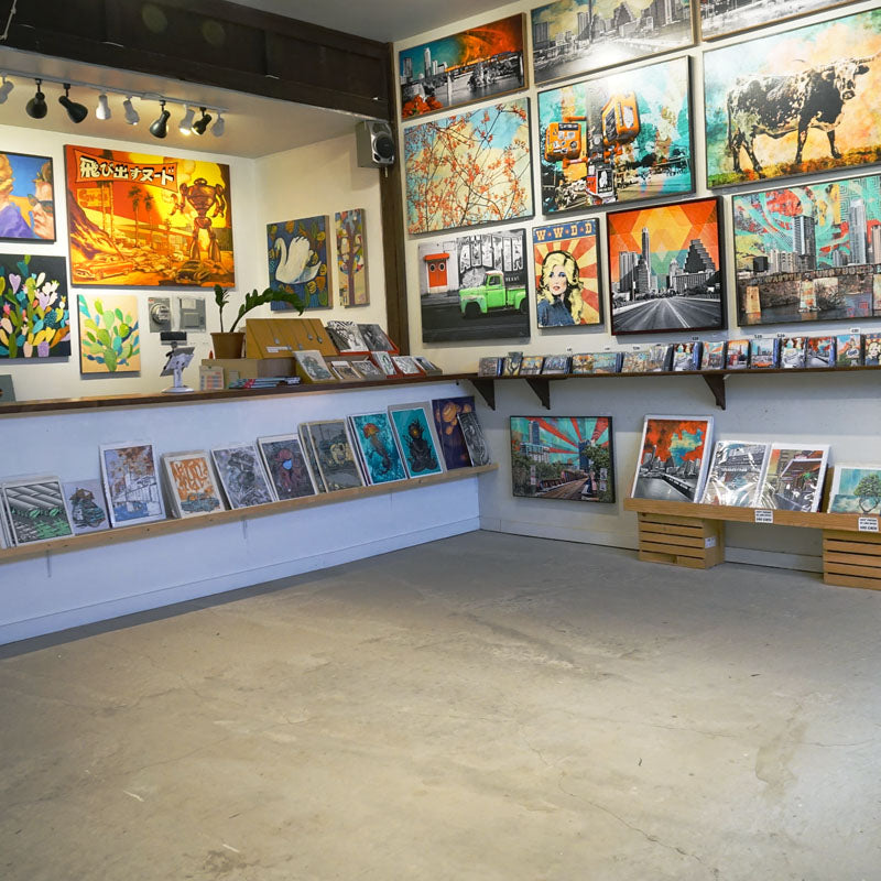 100 Local Attainable Art From Austin Texas