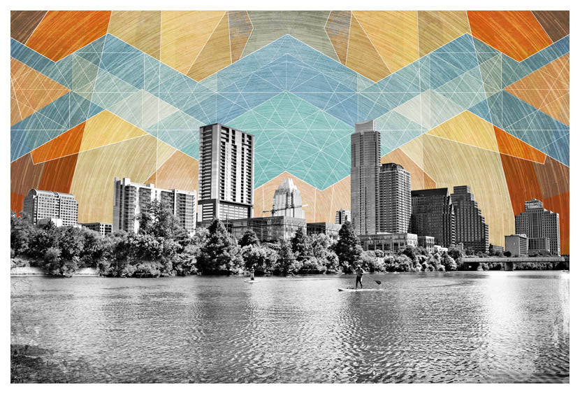 A Beautiful Day in Austin 2 32x48 on canvas