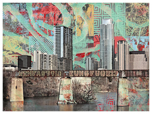 Austin Graffiti Bridge by Jake Bryer