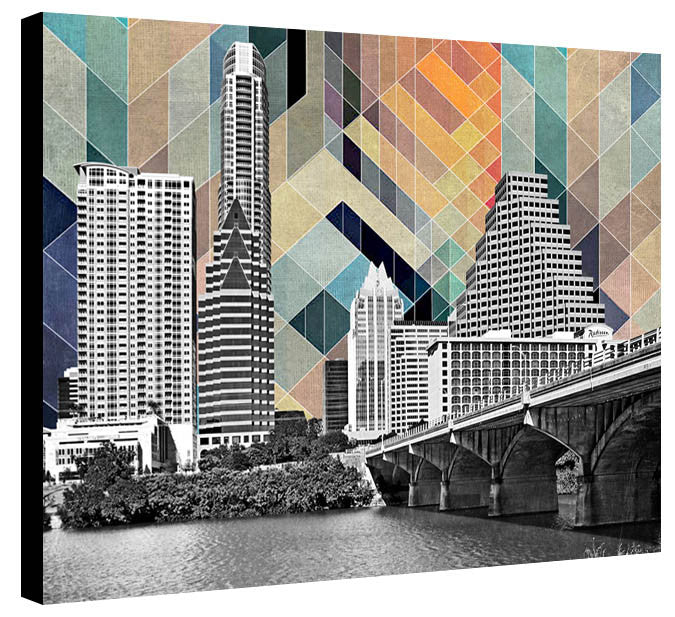 Austin Skyline Design by Jake Bryer