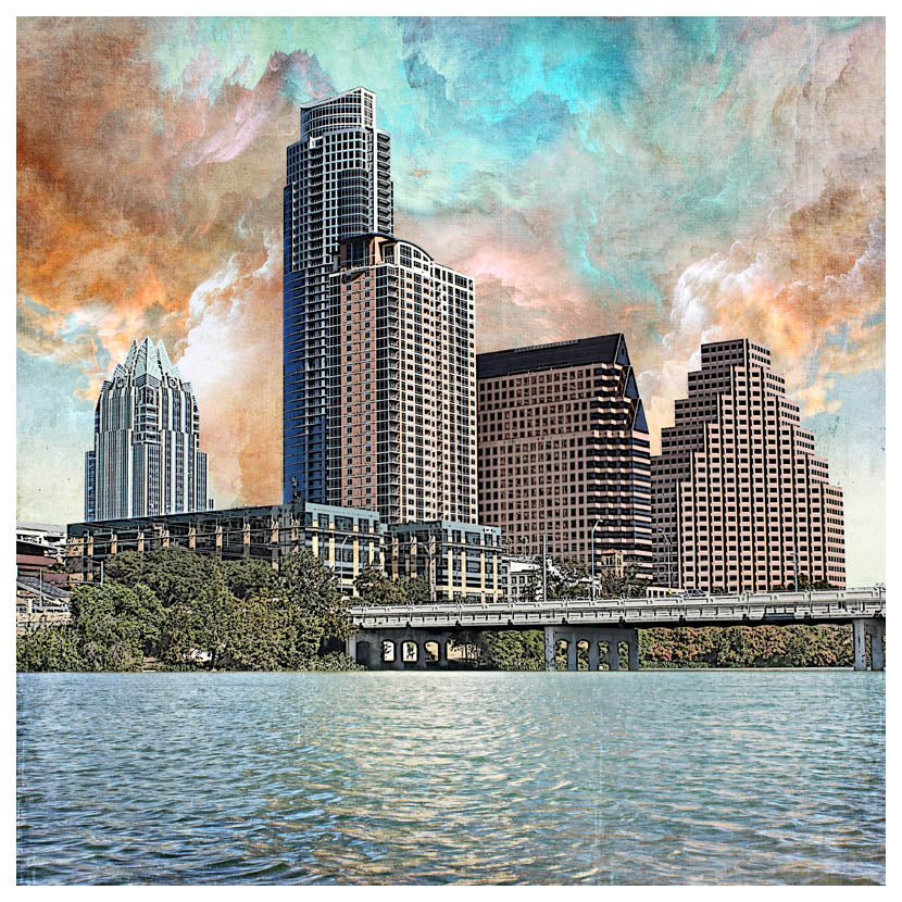 Austin Sunshowers by Jake Bryer