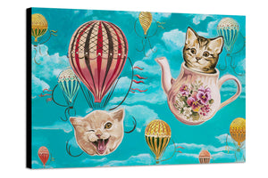 Balloon Cats - Rory Skagen