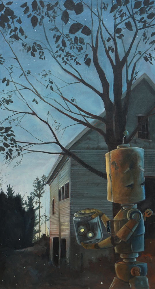 Barn Bot - Lauren Briere - 19x36""