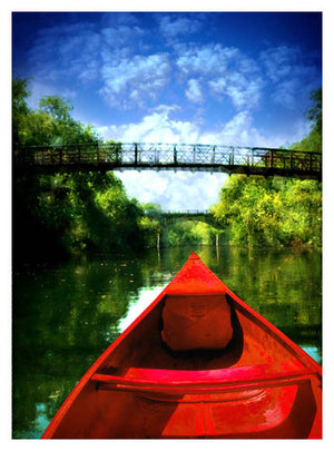 Barton Springs Canoe by Jake Bryer