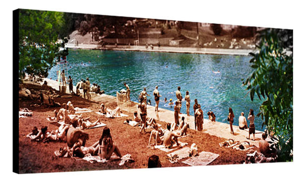 Barton Springs Sunburn