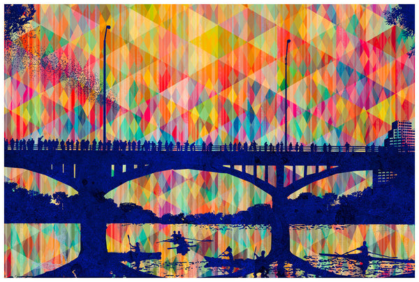 Bat Bridge - Judy Paul - Print