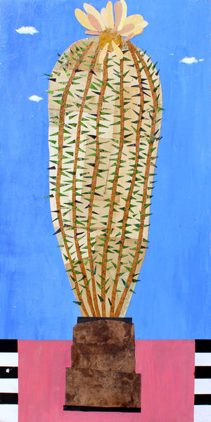 Big Cactus - Larry Good - 24x48""