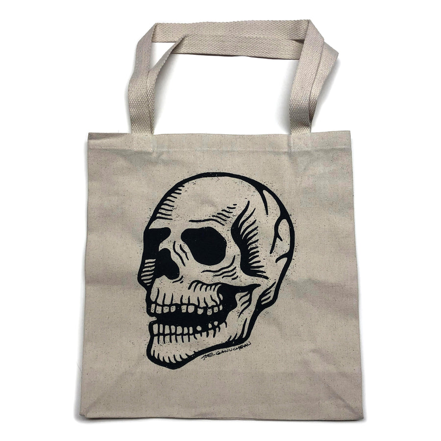 Canvas Tote Bag - Skull - Joel Ganucheau