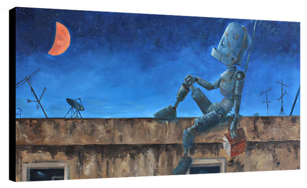 Blood Moon Bot - Lauren Briere - Print