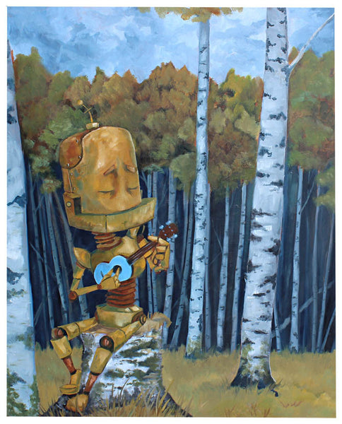 Blue Birch Bot - Lauren Briere - Print