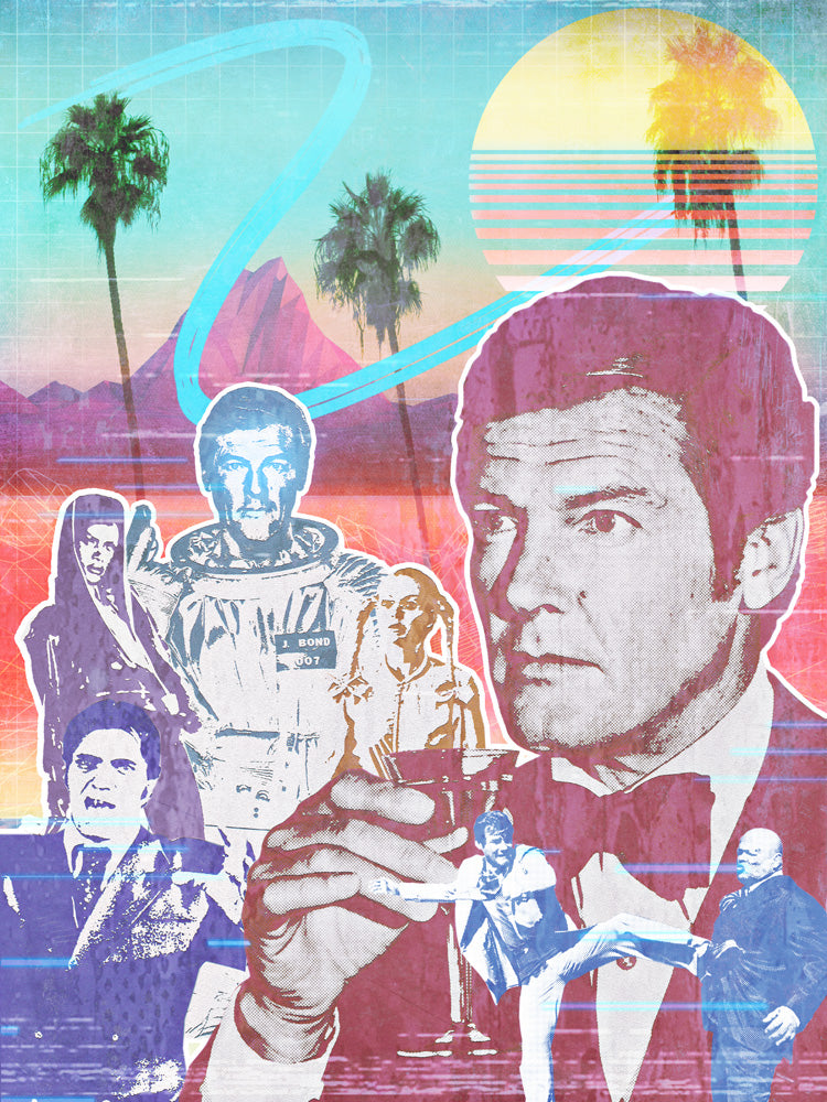 An 80s Tribute to Sir Roger Moore by Jake Bryer