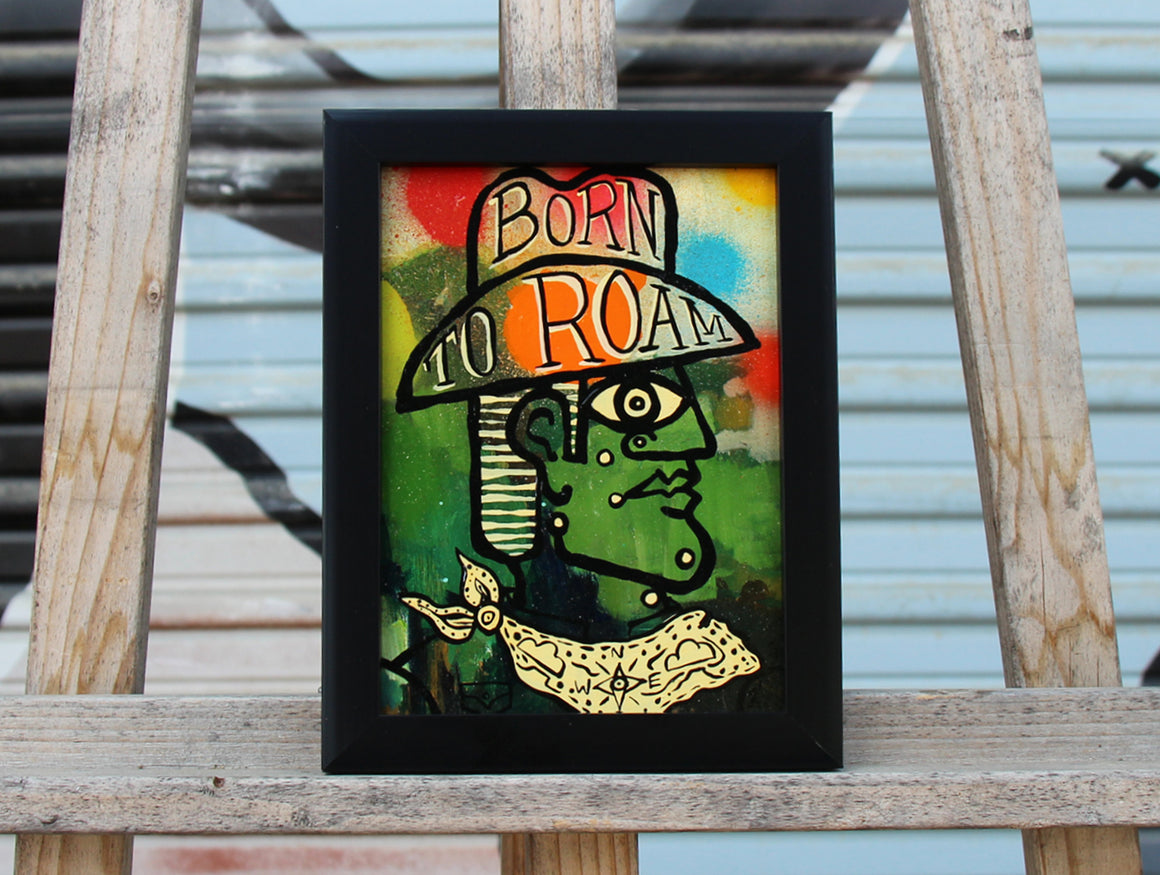 Roam'n - Brian Phillips - 6x8""