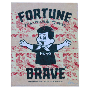 Boy Fortune Blue - Beast Syndicate - 8x10""