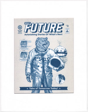 "Bright Future Bear - Beast Syndicate - 11x14""(print)"