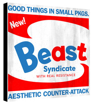 Brillo - Beast Syndicate - Various Sizes (print on canvas)