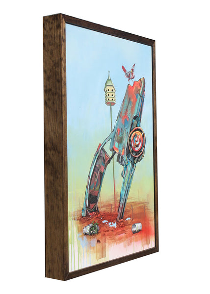 Cadillac Ranch! - Jason Eatherly - 18x26""