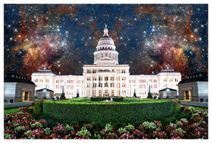 Capitol at Night 2 by Jake Bryer