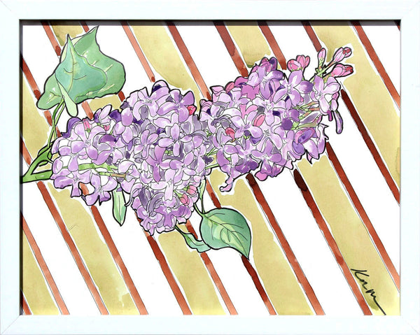 Lilac - Katie Dunkle - 11x14""
