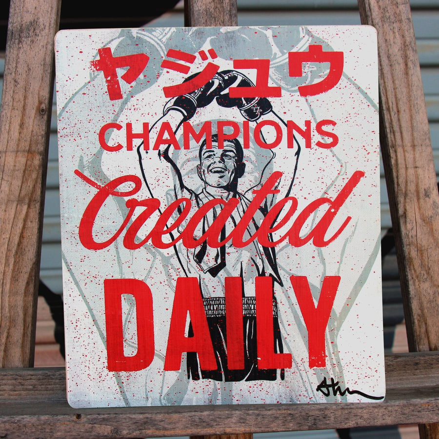 Champions Created Daily - Beast Syndicate - 8x10""