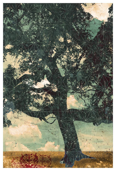 Constellation Tree I - Judy Paul - Print