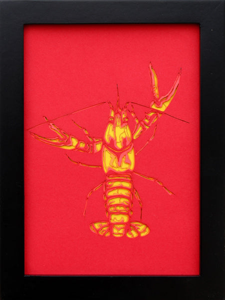 Crawfish Laser - Seve Garza - 6x8""