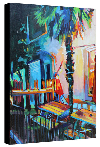 Crow Bar Patio - Sari Shryack - 18x24""