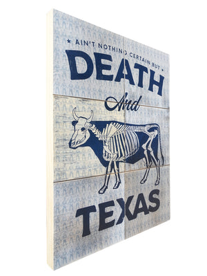 Death + Texas - Beast Syndicate - 18x24""