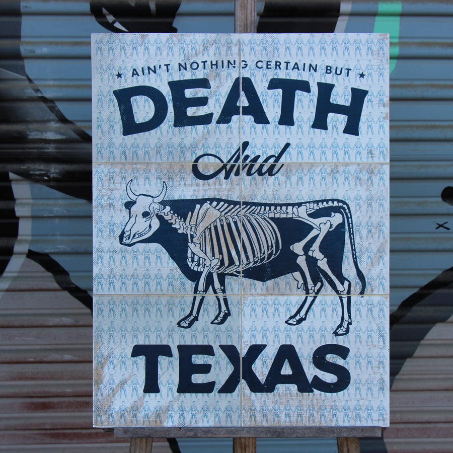 Death and Texas- Beast Syndicate - 18x24""