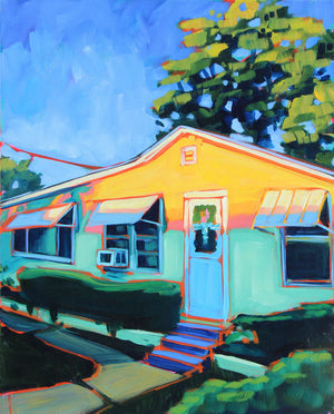 East Austin Sunset - Sari Shryack - 16x20""