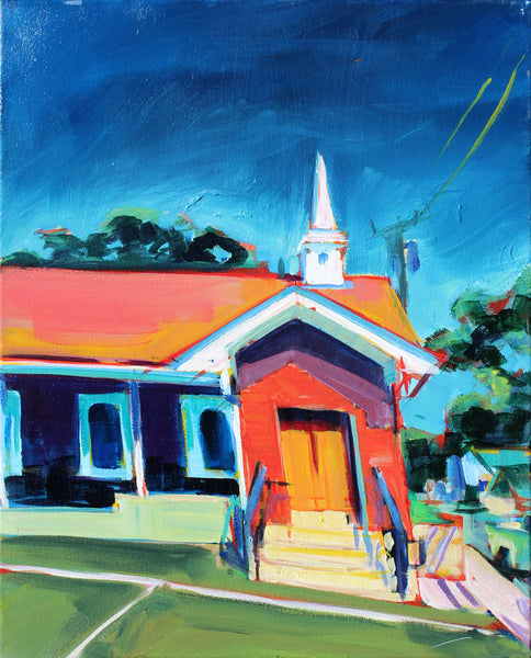 East Side Church - Sari Shryack - 16x20""