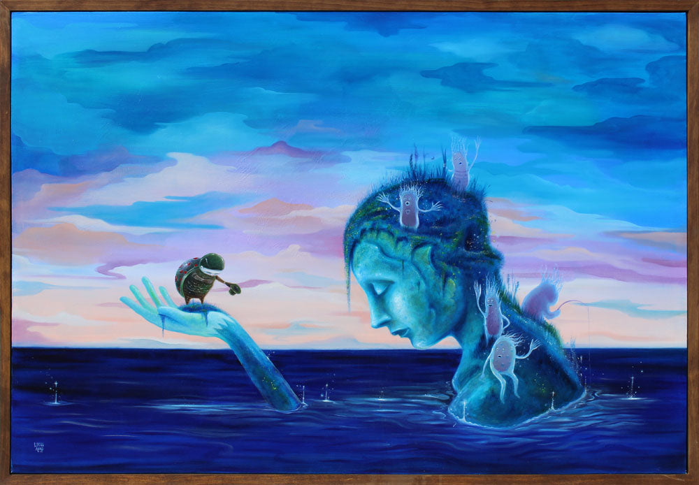 Encounters at the End of the World - Lucas Aoki - 33x49""