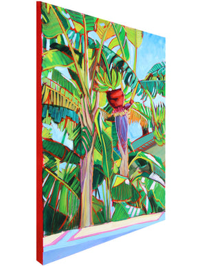 Florida Banana Leaves - Sari Shryack - 30x40""