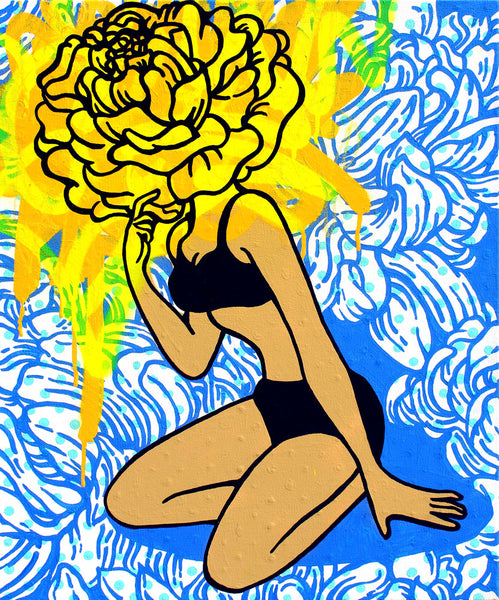Flower Power - Phoebe Joynt - 16 x 20""