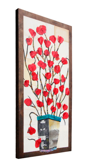 Flowers of Romance IV - Larry Goode - 24x48""