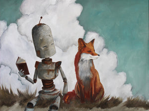 Fox Bot - Lauren Briere - Print