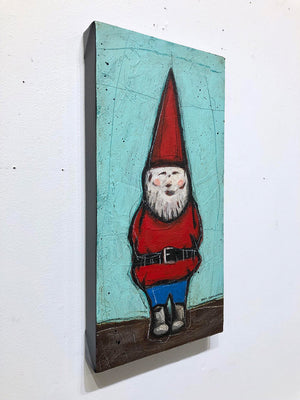Friendly Gnome - Joel Ganucheau - 9x18""