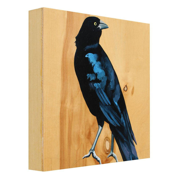 Grackle #12 - Carly Weaver - 12x12""