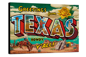 Greetings From Texas - Rory Skagen