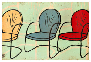 Happy Chairs - PRINT