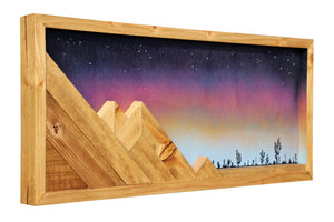 "Heading West - Raymond Allen - 26""x 11"""
